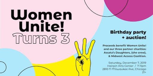 Women Unite! Third Anniversary Party