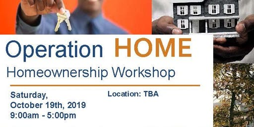 Operation Home Homeownership Workshop - October 2019