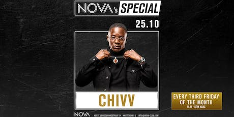 NOVA's Special w/ Chivv & many more | 25th of October tickets