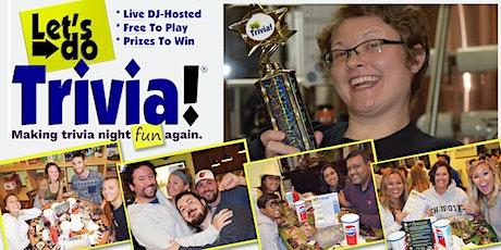 SMYRNA, DE! Let's Do Trivia! @ Blue Earl Brewing is BACK! tickets