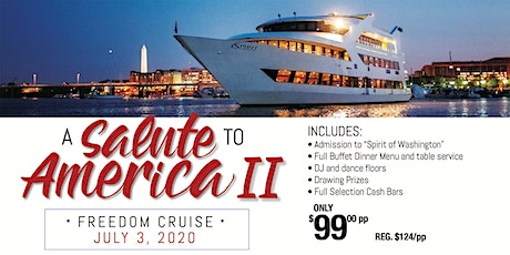 A Salute to America Freedom Cruise II tickets