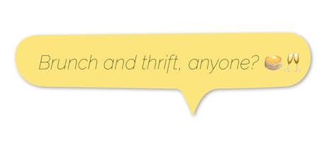 Brunch + Thrift: TDR Pop Up tickets