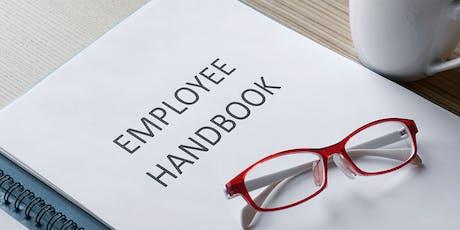 How to Create Your Employee Handbook Workshop tickets