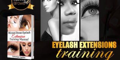 Mink Eyelash Extension Training