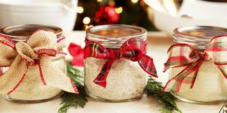 AMAZING CHRISTMAS GIFTS - How to make bath salts with Essential oils tickets