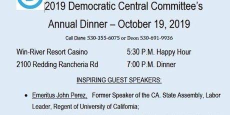 Democrats Annual Dinner tickets