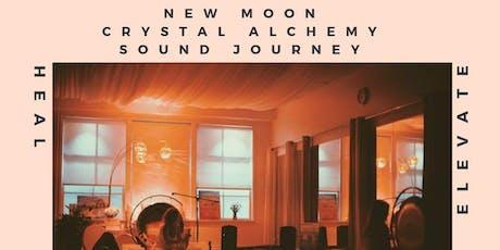 New Moon Crystal Alchemy Sound Journey tickets