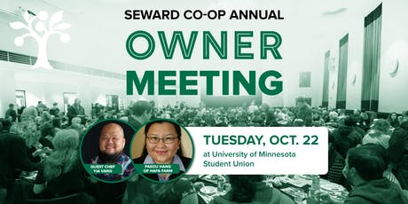 Seward Co-op's Annual Owner Meeting tickets