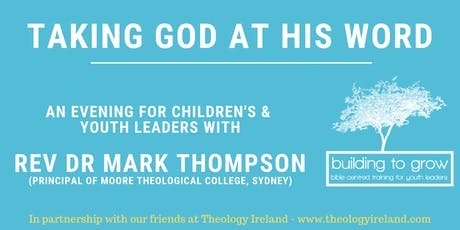 Building to Grow - An Evening with Rev Dr Mark Thompson  tickets