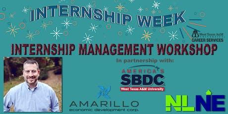 WTAMU Internship Management Workshop tickets