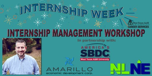 WTAMU Internship Management Workshop