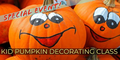 Special Event! Kid Pumpkin Decorating with Painted Ivy