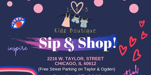 143 Kidz Boutique's Sip & Shop