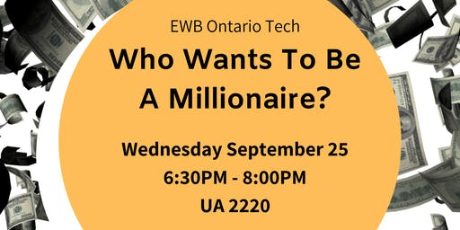 Who Wants To Be A Millionaire - EWB