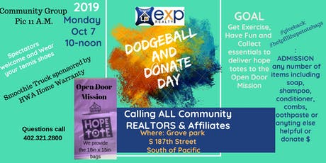 Dodgeball and Donate Day tickets