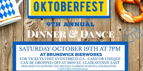 PHCA Oktoberfest 9th Annual Dinner & Dance tickets