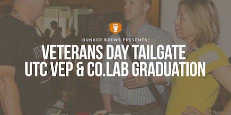 Bunker Brews Chattanooga: Veterans Day Tailgate UTC VEP & CO.LAB Graduation tickets