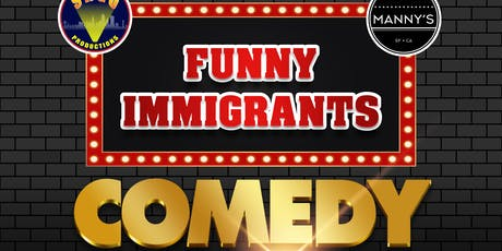 Funny Immigrants Comedy Show tickets