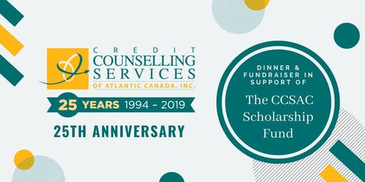 CCSAC 25th Anniversary Dinner & Scholarship Fundraiser