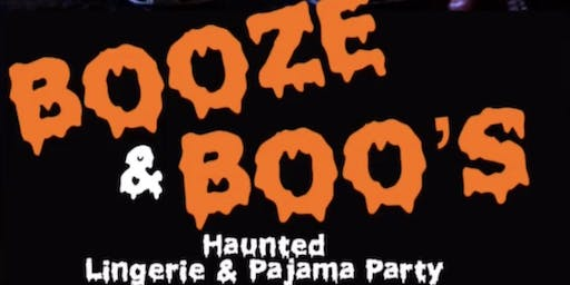 Booze & Boo's: Costume Party