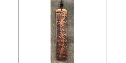 Copper Bookmark Workshop with Annealed Studio