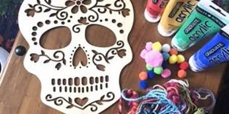 Halloween Skull Dreamcatcher workshop with Aimee from Gracefully Boho tickets