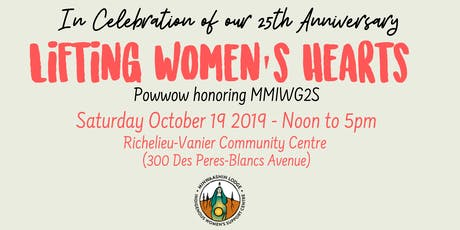 Lifting Women's Hearts - Powwow Honoring MMIWG2S tickets