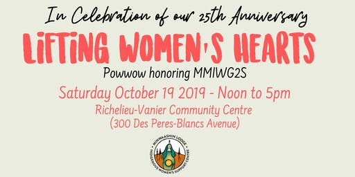 Lifting Women's Hearts - Powwow Honoring MMIWG2S