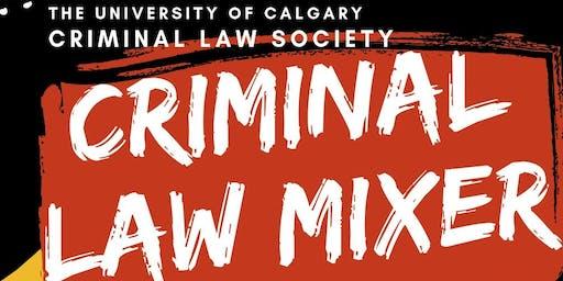 Calgary Criminal Law Mixer