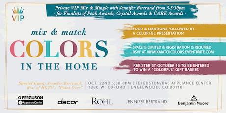 Private VIP Mix and Mingle with Jennifer Bertrand tickets