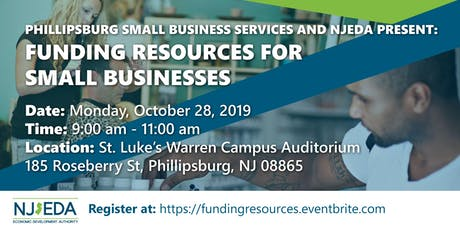 Phillipsburg Funding Resources for Small Businesses tickets