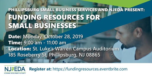 Phillipsburg Funding Resources for Small Businesses