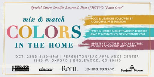 Mix & Match Colors for the Home
