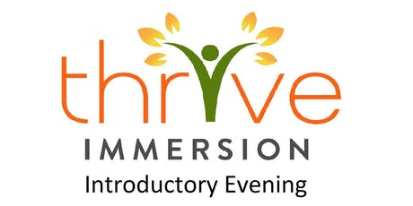 Thrive Immersion In Person Demo Event tickets