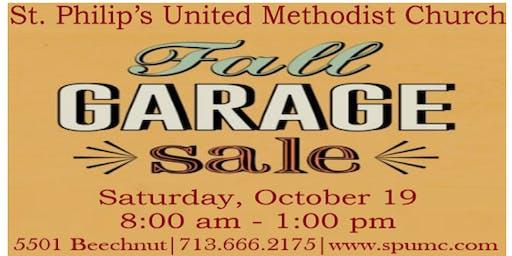 St. Philip's Fall Garage Sale