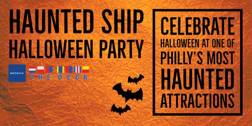 Haunted Ship Halloween Party