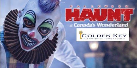 Halloween Haunt with YU Golden Key tickets