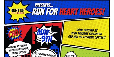 7th annual Run for Little Hearts presents...RUN FOR HEART HEROES! tickets