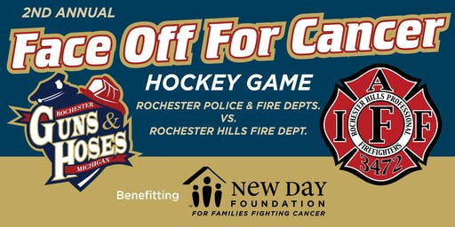 Face Off for Cancer Charity Hockey Game