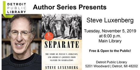 DPL Author Series : Steven Luxenberg tickets