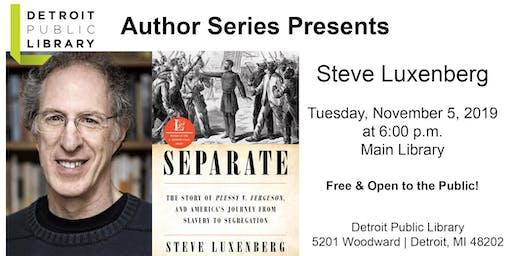 DPL Author Series : Steve Luxenberg