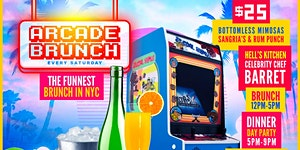 ARCADE BRUNCH NYC