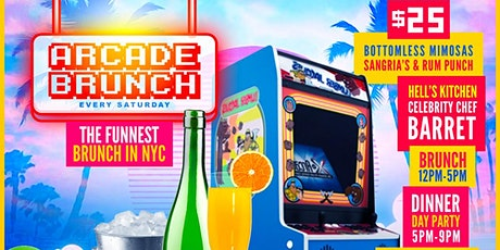 ARCADE BRUNCH NYC tickets