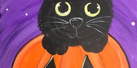 Kid's Halloween Snack'n'Paint tickets