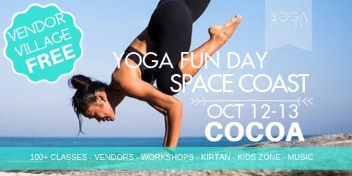1st Annual Yoga Fun Day Space Coast - Yoga Festival 2019