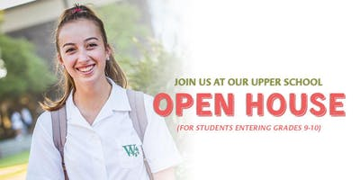 Westridge Open House for Grade 9