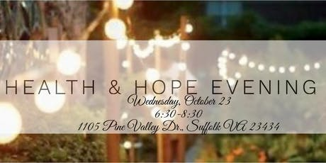 Health & Hope Evening tickets