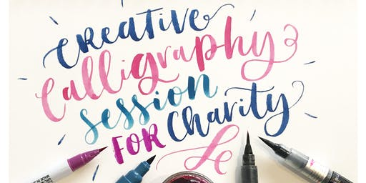Creative Calligraphy Session for Charity