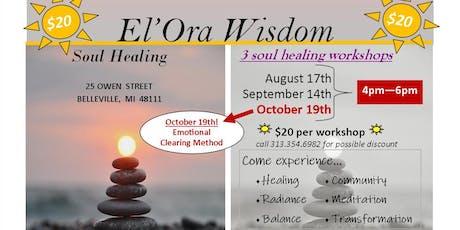 El'Ora Wisdom Soul Healing - 10/2019 tickets