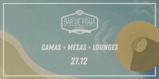 Bar de Praia 2020 - (27/12) Vibezinha - Camas / Mesas / Lounges